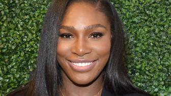 NEW YORK, NY - SEPTEMBER 15:  Serena Willams attends the Serena Williams Signature Statementby HSN show during Spring 2016 Style360 on September 15, 2015 in New York City.  (Photo by Grant Lamos IV/Getty Images)