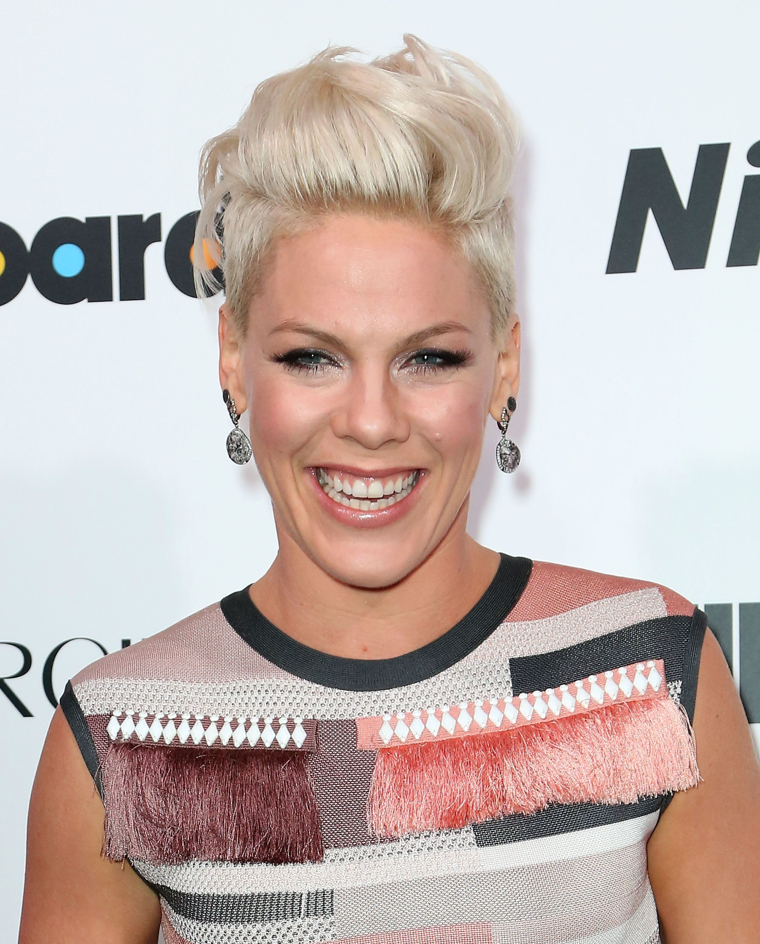 """P!nk revealed that was pregnant with her daughterduring a 2010episode of <a href=""""https://www.youtube.com/watch?v"""