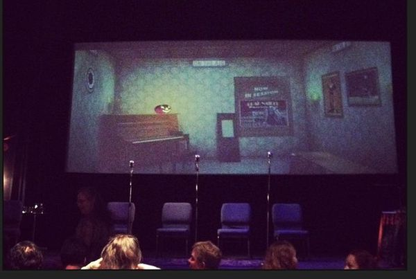 "This little theater actually <a href=""http://moundstheatre.org/About.htm"">prides itself</a> on being haunted. <a href=""https:"