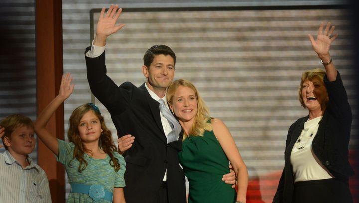 "Rep. Paul Ryan (R-Wis.) said he didn't want to give up his ""family time"" if he became House speaker."