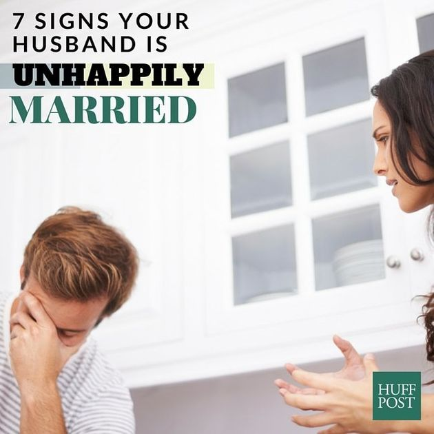 7 Signs Your Husband Is Unhappily Married
