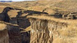 Esta gran grieta de Wyoming inquieta en las redes sociales, pero los geólogos tienen