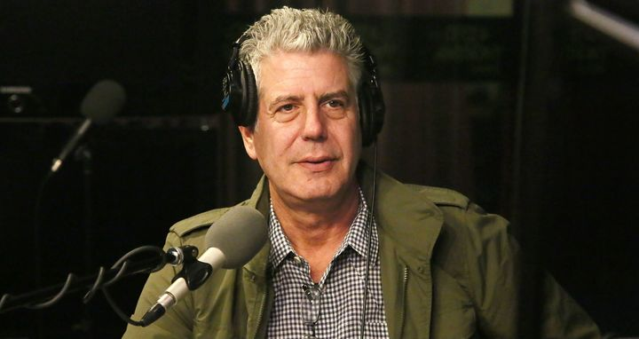 Chef Anthony Bourdain criticized Donald Trump's immigration plan during a radio interview on Wednesday.