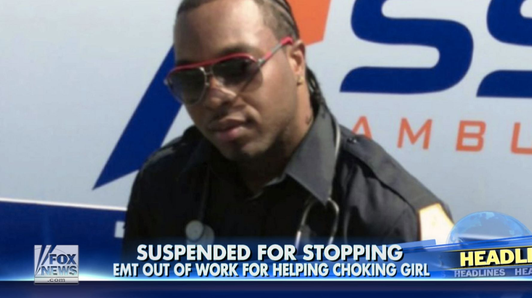 New York EMT Suspended Without Pay After Helping Choking