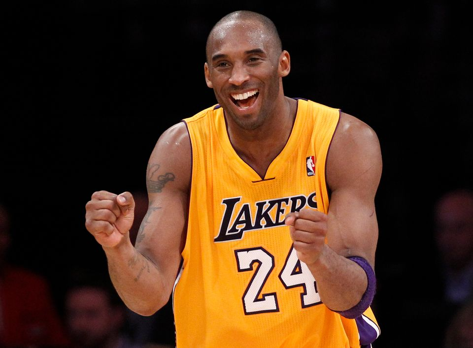 "In 2009, Lakers shooting guard and NBA All-Star Kobe Bryant <a href=""http://nbcsports.msnbc.com/id/31394714/ns/sports-nba/"" t"