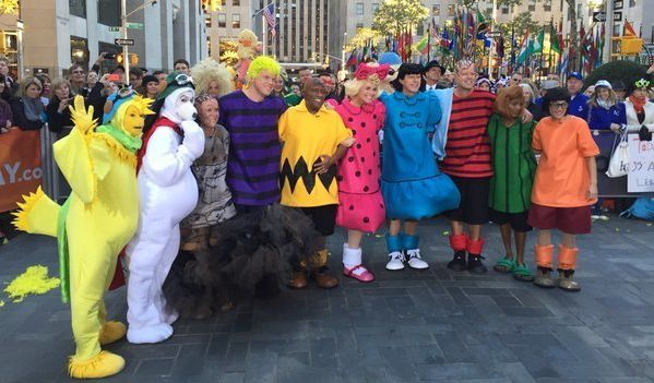 today anchors wear charlie brown costumes for halloween huffpost