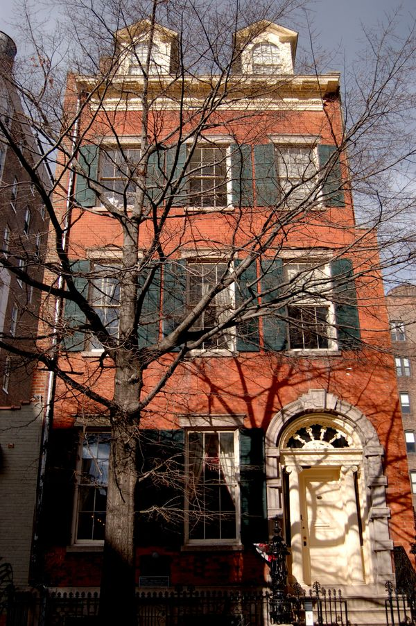 "They call this ""<a href=""http://merchantshouse.org/"">the most haunted place in NYC</a>."" Show up for a <a href=""http://mercha"