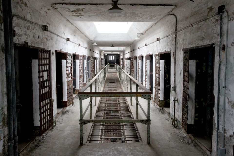"Inmates have reported ghost sightings&nbsp;since the 1940s, but <a href=""https://www.easternstate.org/halloween/ghosts"">they"
