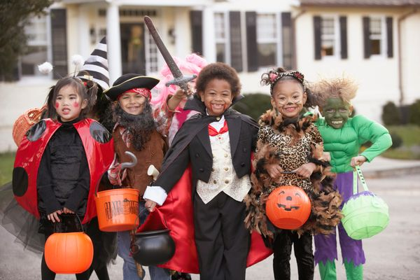 If possible, take kids trick-or-treating before it gets dark, when visibility is better ... and so are the candy options!