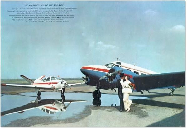 """<i>""""This was the first His and Her gift. We got a request from a West Texas rancher saying that he could not use both planes,"""