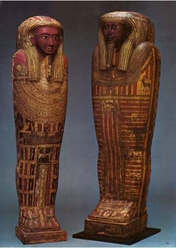 """<i>""""The authentic mummy cases made front page news around the world. They were shipped directly to our then-new store in Bal"""