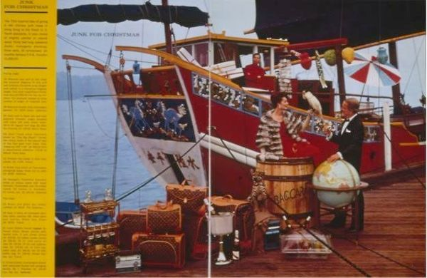 """<i>""""This ornate Chinese boat resulted in eight orders to be delivered to five different bodies of water.""""<br><br></i>Editor's"""