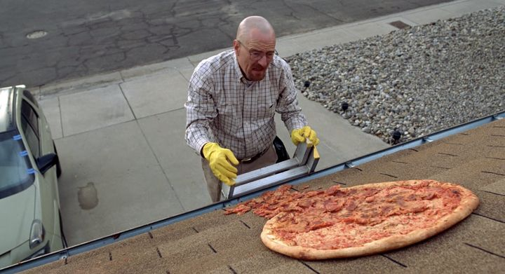 Breaking Bad Fans Still Tossing Pizzas On Walter White S