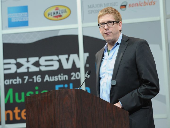 Hugh Forrest, SXSW Interactive's director, speaks during the 2014 SXSW Music, Film + Interactive Festival.