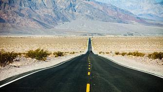 Desolate Desert Highway, Death Valley