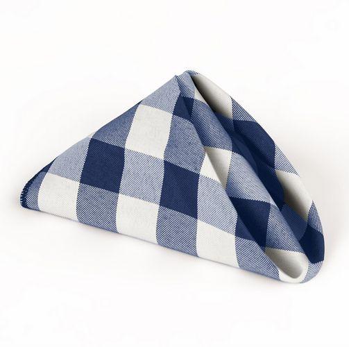 "<i><a href=""15 in. Polyester Napkins Blue &amp; White Checkered"" target=""_blank"">15 in. Polyester Napkins Blue &amp; White Checkered, $6.81</a></i>"