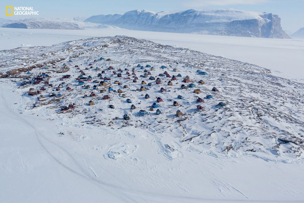 """""""Every time I travel to Greenland, there's magic,"""" Jazbec said. """"It's like you're on another planet."""""""