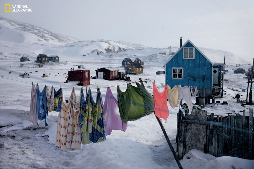 "Many people have abandoned old Inuit ways of life for new opportunities in larger towns. ""Between 2013 and 2015, some of the"