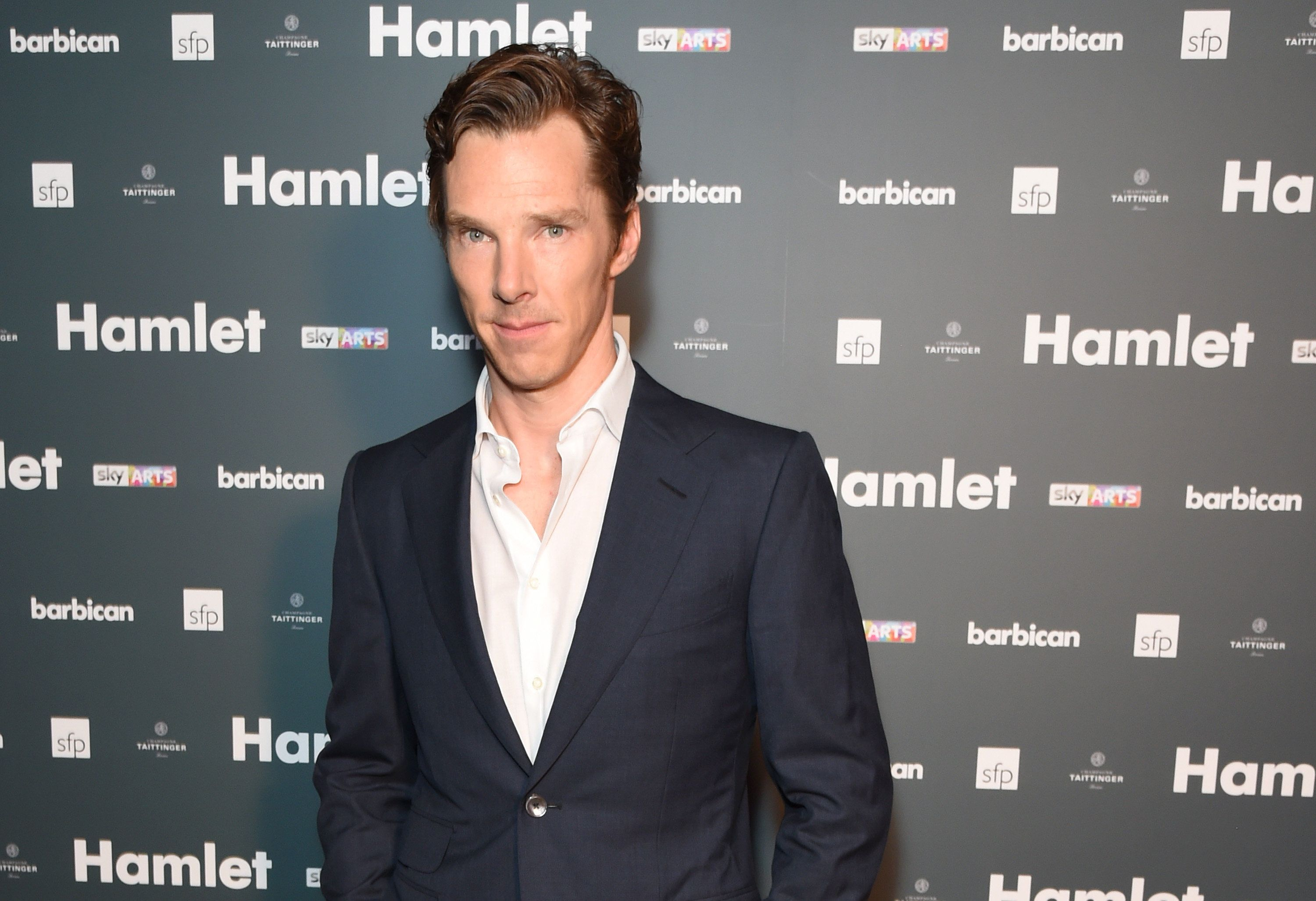 LONDON, ENGLAND - AUGUST 25:  Benedict Cumberbatch attends an after party following the press night performance of 'Hamlet' at the Barbican Centre on August 25, 2015 in London, England.  (Photo by David M. Benett/Dave Benett/Getty Images)