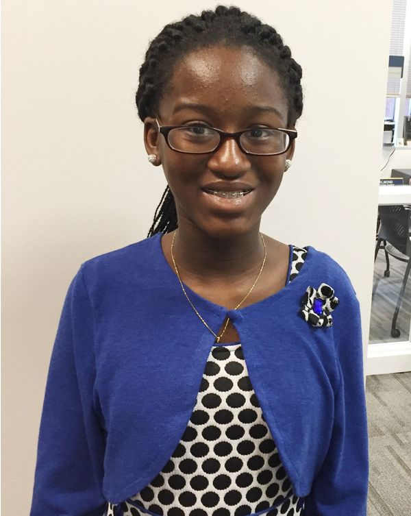 "Akosua, from&nbsp;Ghana, is excited ""to&nbsp;have new rights.""<br><br>""I like the amusement parks,"" she said, describing what"