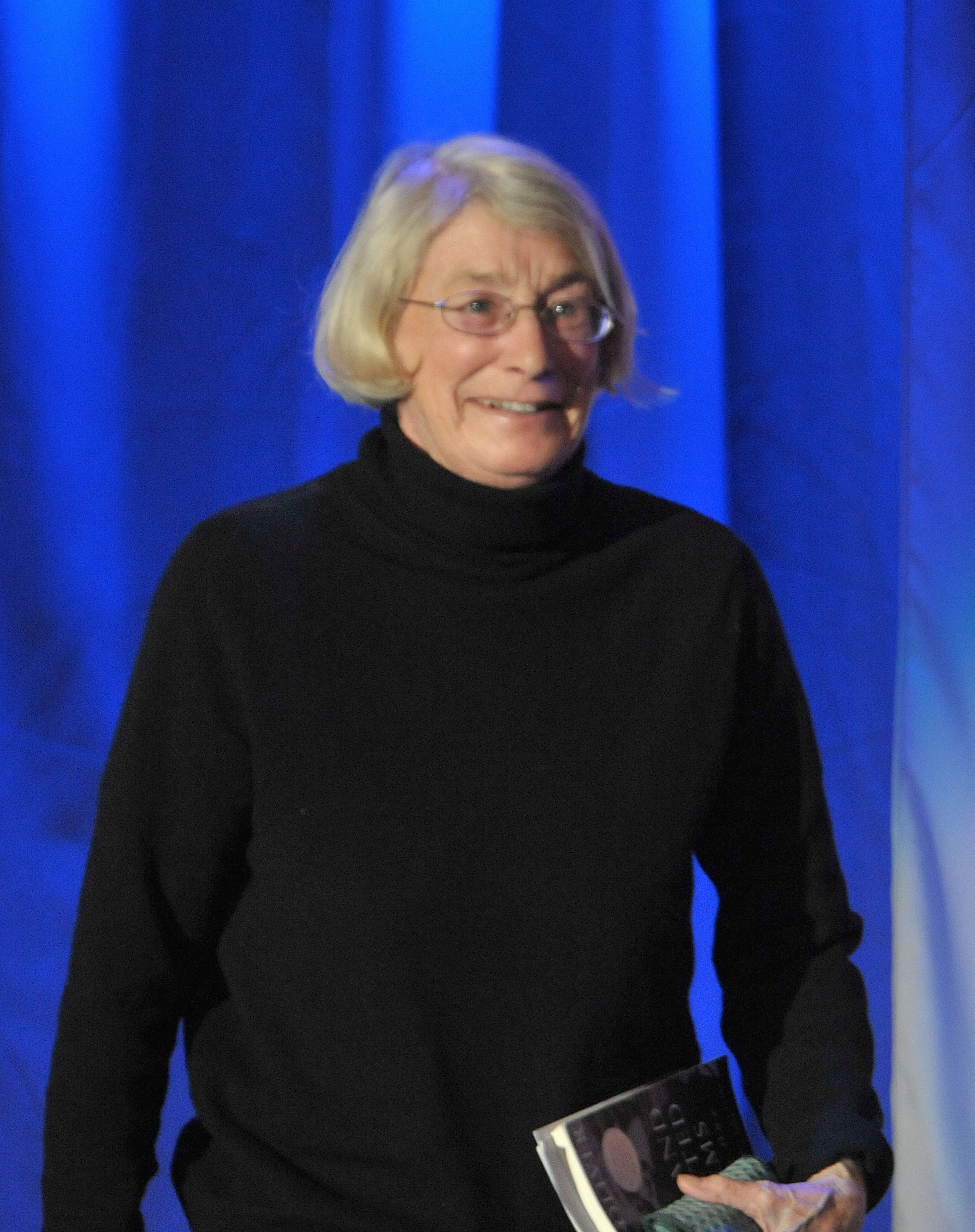 Pulitzer Prize winning poet, Mary Oliver attends day 3 of Maria Shriver's Women's Conference 2010 at the Long Beach Convention Center on October 26, 2010 in Long Beach, California. (Photo by Dr. Billy Ingram/WireImage)