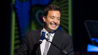 PHILADELPHIA, PA - OCTOBER 26:  Comedian, television host, actor, singer, writer, and producer, Jimmy Fallon attends Philadelphia Music Alliance 2015 Walk Of Fame Gala at the Fillmore Philadelphia on October 26, 2015 in Philadelphia, Pennsylvania.  (Photo by Gilbert Carrasquillo/Getty Images)