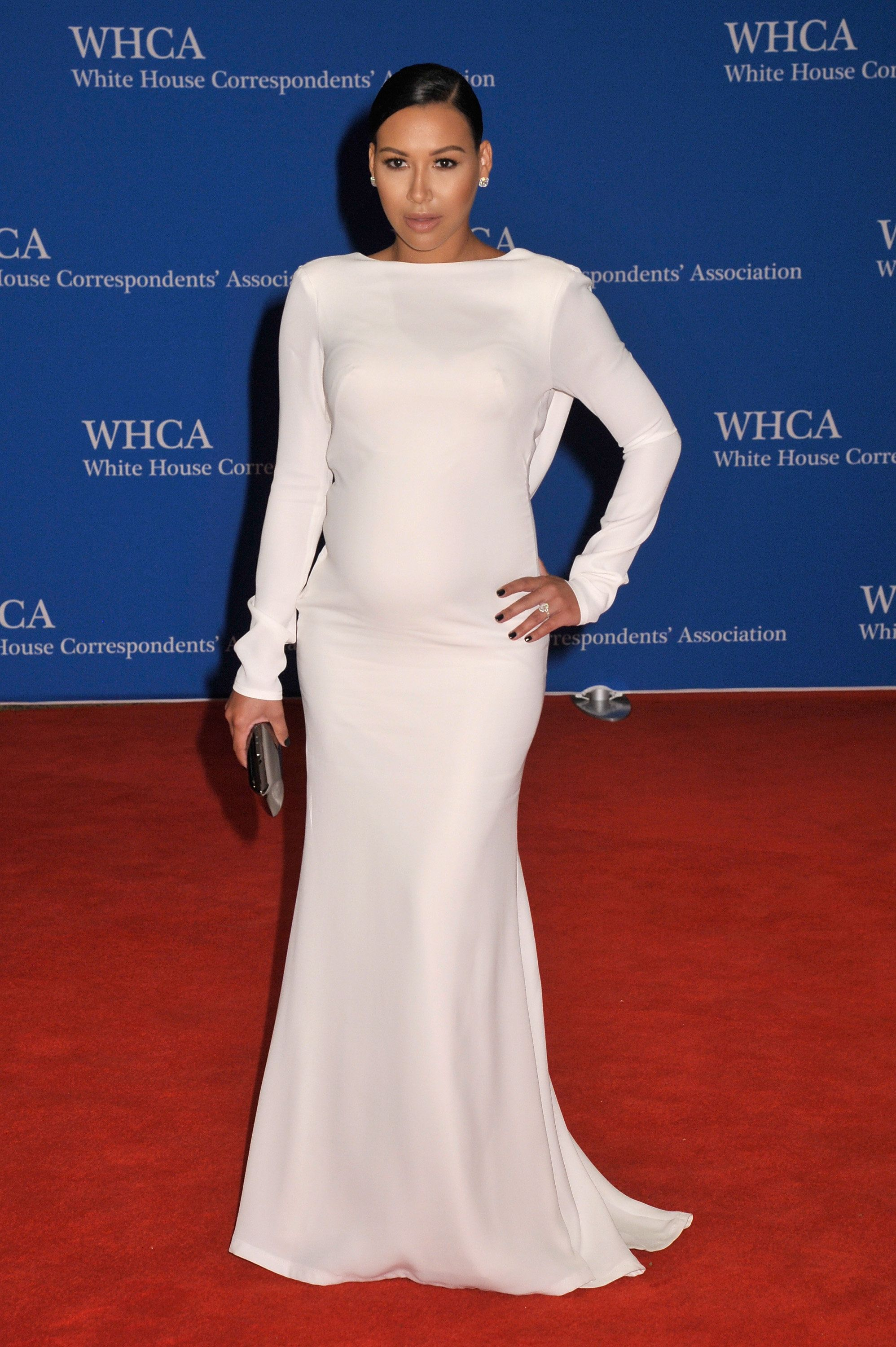 WASHINGTON, DC - APRIL 25:  Naya Rivera attends the 101st Annual White House Correspondents' Association Dinner at the Washington Hilton on April 25, 2015 in Washington, DC.  (Photo by Kris Connor/FilmMagic)