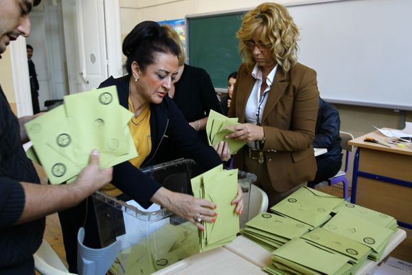 The results indicate that the AK Party has returned to a majority government.