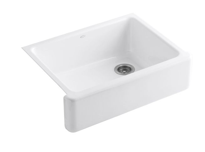 """<a href=""""http://www.lowes.com/pd_498598-20602-6487-0___?productId=4780021&amp;pl=1&amp;Ntt=farmhouse+sink"""">Kohler White Farmhouse Commercial Sink, lowes.com for prices</a>"""