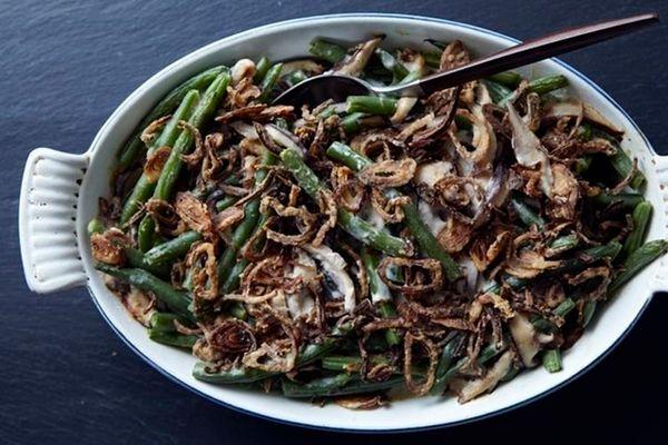 """<strong>Get the <a href=""""http://food52.com/recipes/7875-homemade-green-bean-casserole"""">Totally From Scratch Green Bean Casser"""