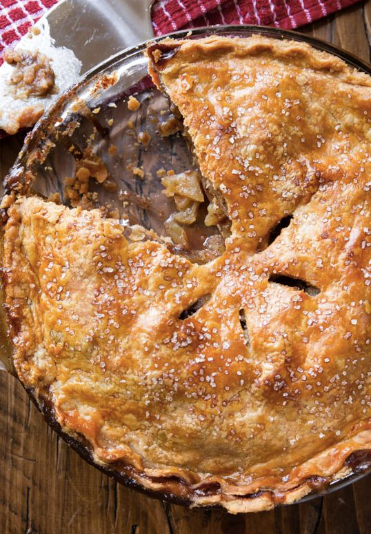"""<strong>Get the <a href=""""http://sallysbakingaddiction.com/2015/10/31/homemade-apple-pie-with-chai-spices/"""" target=""""_blank"""">Ho"""