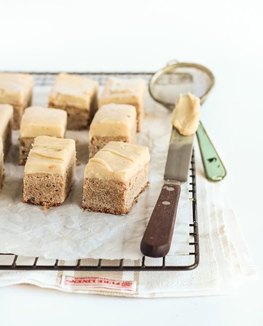"""<strong>Get the <a href=""""http://www.raspberricupcakes.com/2012/08/spiced-blondies-with-chai-infused.html"""">Spiced Blondies wit"""