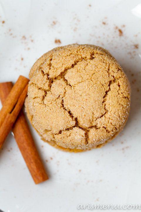 """<strong>Get the <a href=""""http://arismenu.com/chai-spiced-snickerdoodles-vegan/"""">Chai Spiced Snickerdoodles recipe</a> from Ar"""