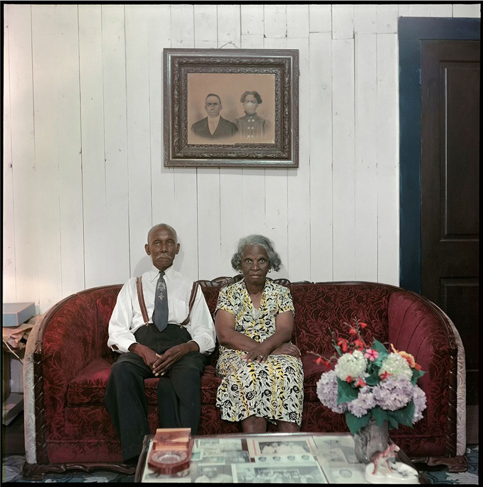Gordon Parks Mr. and Mrs. Albert Thornton, Mobile, Alabama, 1956