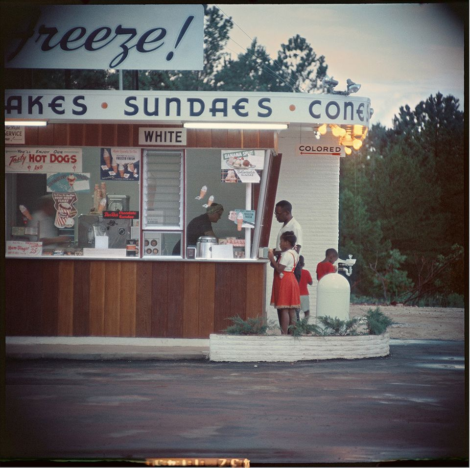 "<span class='image-component__caption' itemprop=""caption"">Gordon Parks Untitled, Shady Grove, Alabama, 1956 Archival Pigment Print</span>"