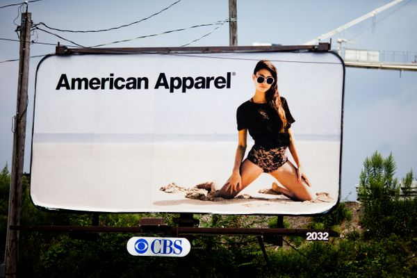 Specialty clothing retailer American Apparel — one of the fastest growing U.S. companies only a decade ago — file