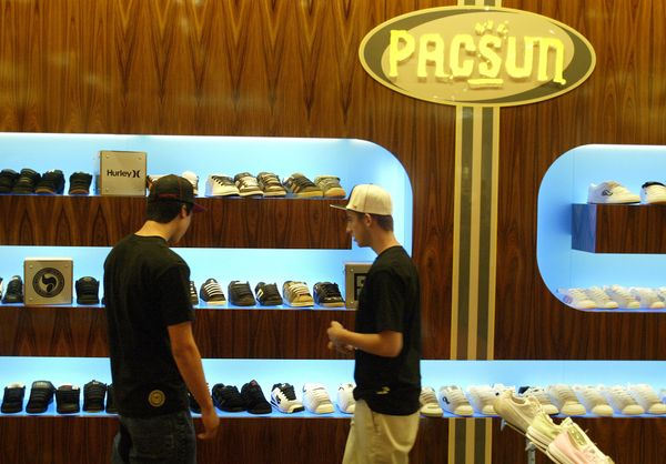 Also known as PacSun, retailer Pacific Sunwear of California reported fiscal 2015 revenue of $826.8 million, up from $797.8 m