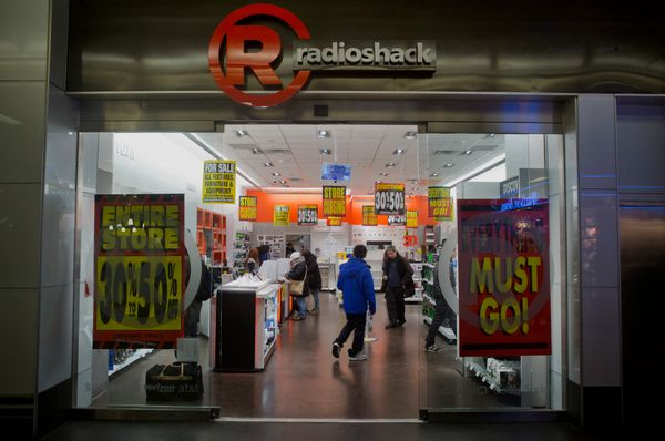 RadioShack, once at the forefront of the electronics retail industry, filed for bankruptcy at the beginning of this year, put