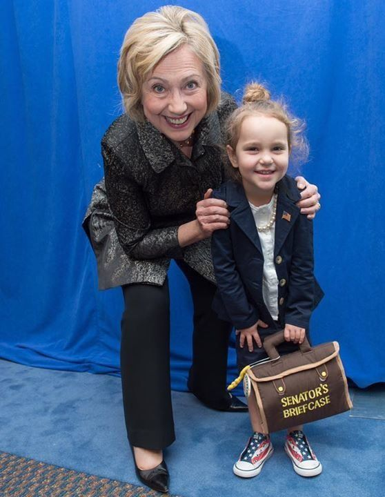 A recent poll suggests parents who only have daughters are more likely to vote for Hillary Clinton than Donald Trump.