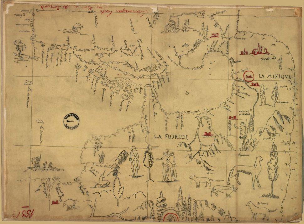 Central America, 1850.