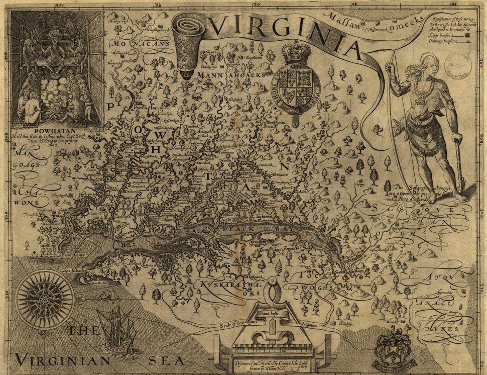 Virginia, 1624.