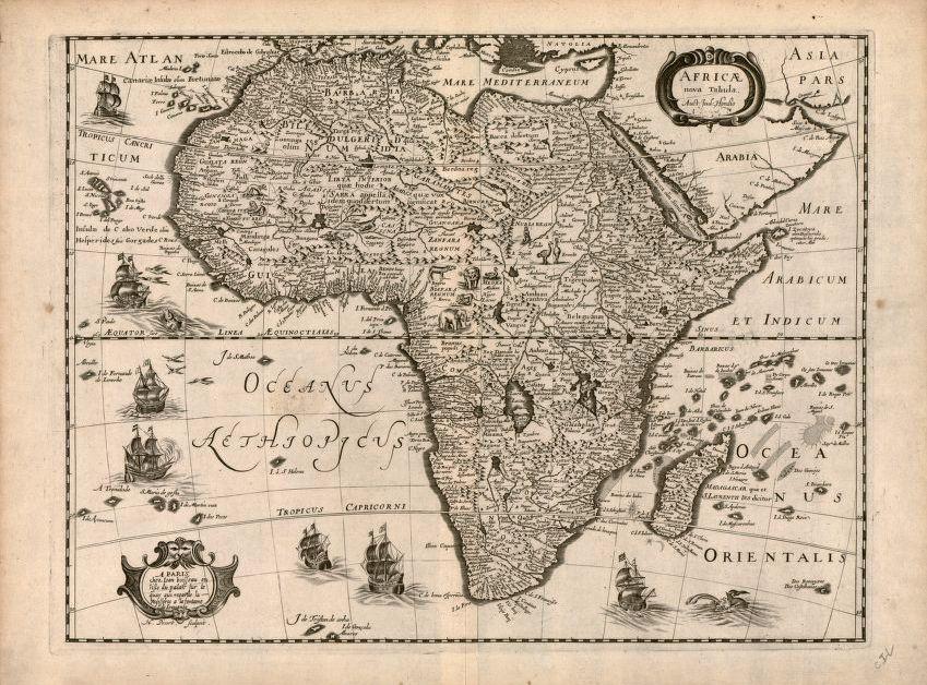 Africa Board, 1640.