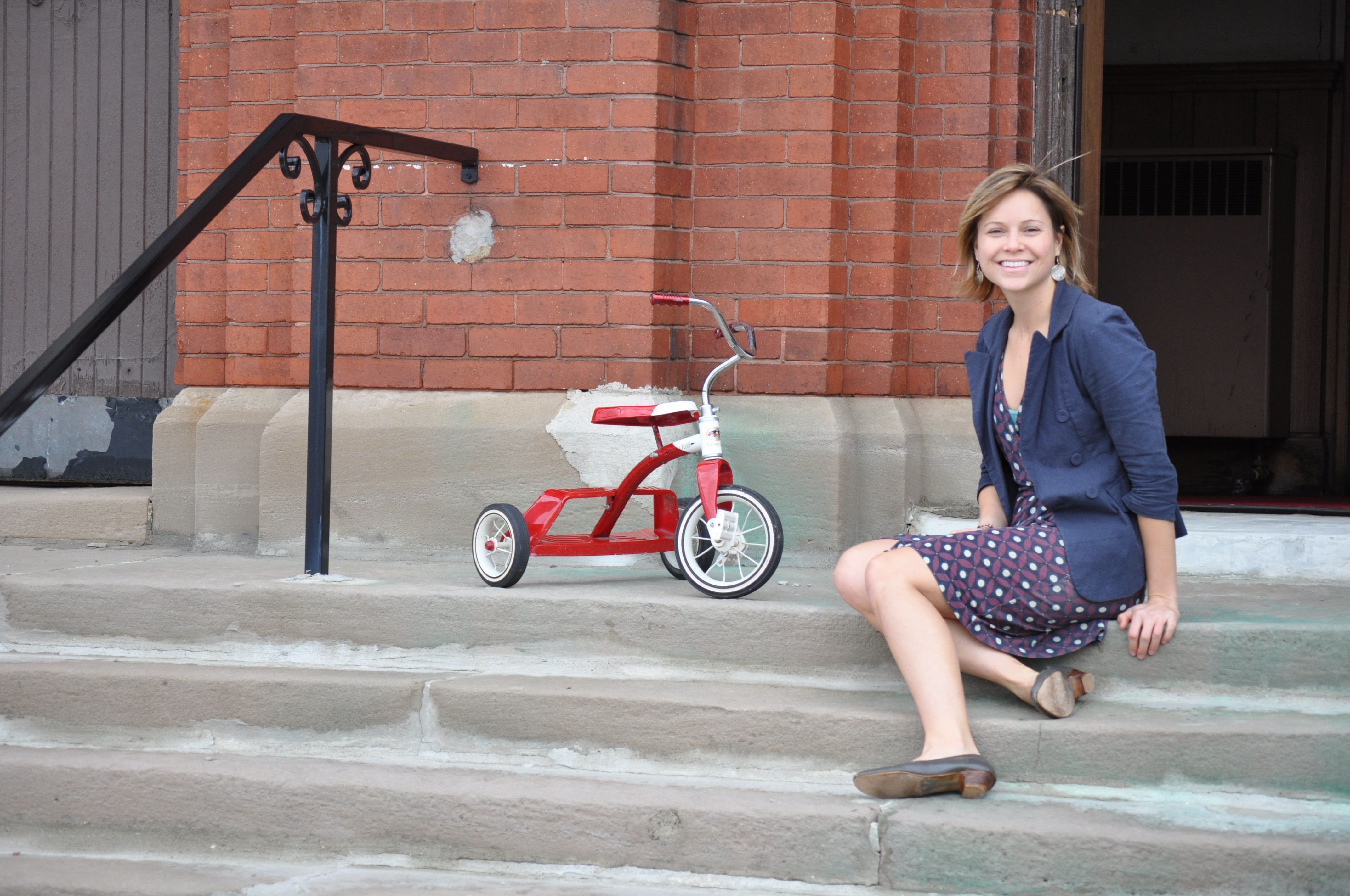 Michele Oberholtzer started The Tricycle Collective in 2014. The name comes from the way she first started finding families t