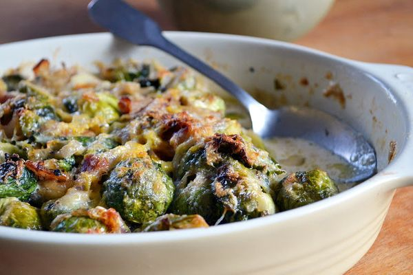 "<strong>Get the <a href=""http://theviewfromgreatisland.com/2011/11/brussels-sprout-gratin.html"" target=""_blank"">Brussels Spro"