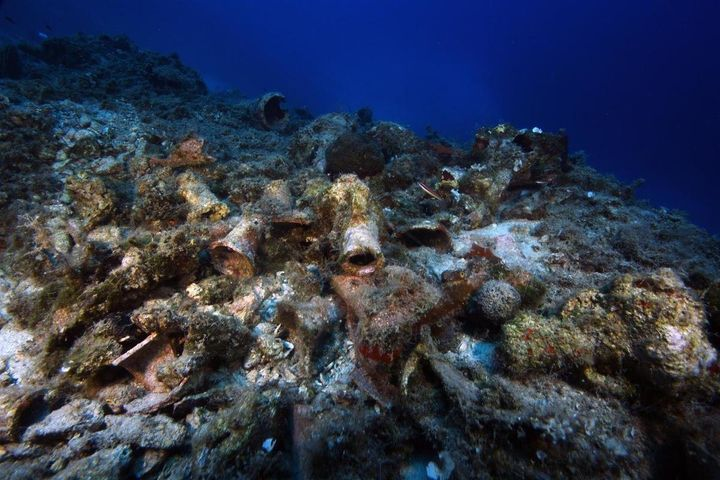 Explorers working off the coast of Greece found more than 20 ancient shipwrecks last month.