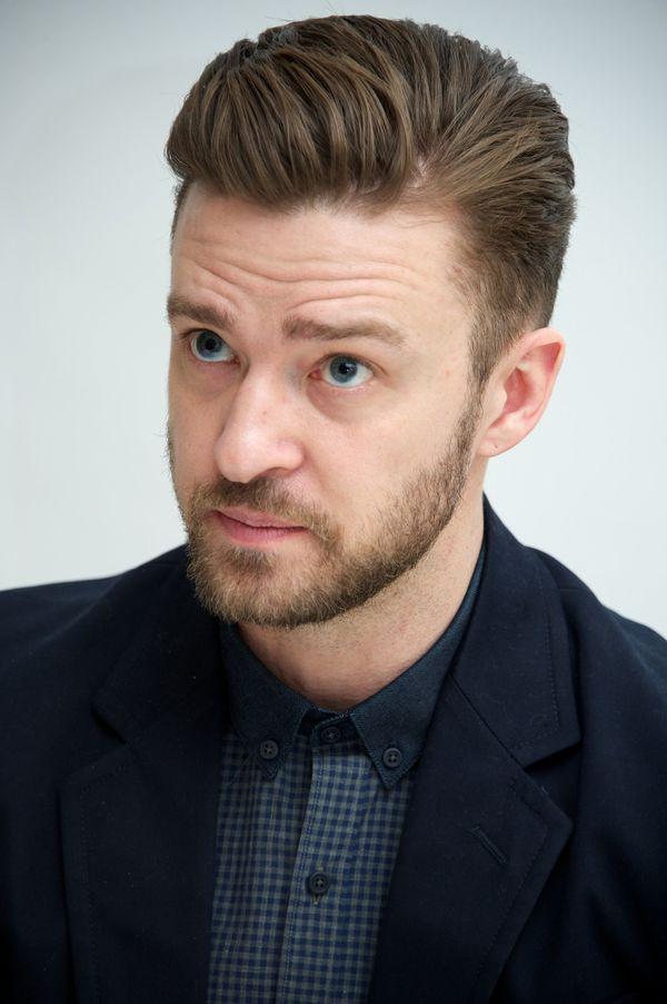 Justin Timberlake Side Part
