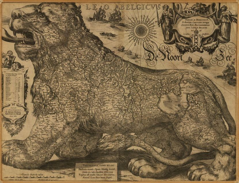 Jodocus Hondius/Library of Congress