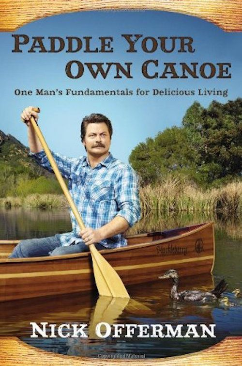 "<i><strong><a href=""http://www.amazon.com/Paddle-Your-Own-Canoe-Fundamentals/dp/0451467094/ref=sr_1_1?amp=&ie=UTF8&keywords=p"