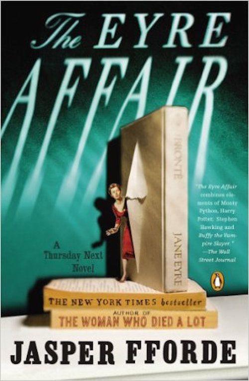 "<strong><i><a href=""http://www.amazon.com/Eyre-Affair-Thursday-Next-Novel/dp/0142001805/ref=sr_1_1?amp=&ie=UTF8&keywords=the+"