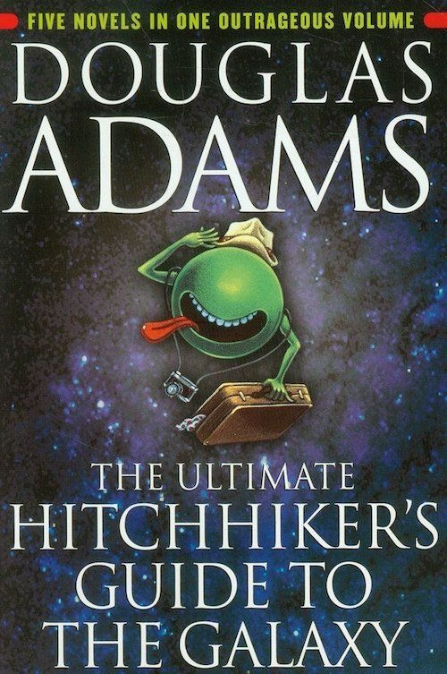 "<i><strong><a href=""http://www.amazon.com/Ultimate-Hitchhikers-Guide-Galaxy/dp/0345453743/ref=sr_1_2?amp=&ie=UTF8&keywords=hi"